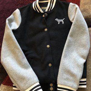 Victoria Secret PINK varsity bomber jacket